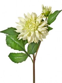 Aldik Home's Realistic Silk Flowers - Soft Touch Dahlia