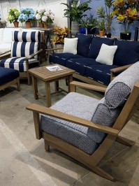 Aldik Home's Summer Classics Patio Furniture Floor Samples - Astoria Sofa and Recliner