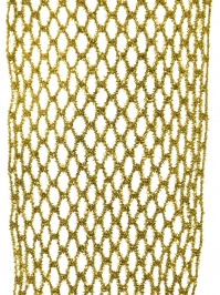 Aldik Home's Luxurious Ribbon - Metallic Netting