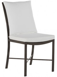 Aldik Home's Summer Classics Patio Furniture Floor Samples - Monaco Side Chair (Set of 2)