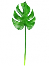 Aldik Home's Realistic Silk Plants - Philodendron Leaf