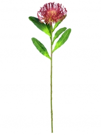 Aldik Home's Realistic Silk Flowers - Protea Open Needle