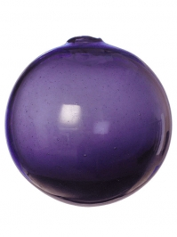 Aldik Home's Eclectic Home Decor and Accessories - Sphere Eggplant