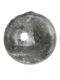 Aldik Home's Eclectic Home Decor and Accessories - Sphere Silver