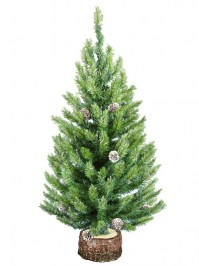 Aldik Home's Premium Artificial Christmas Trees - Cascade Crystal