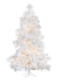 Aldik Home's Premium Artificial Christmas Trees - Glacier Long Needle
