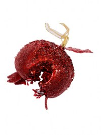 Aldik Home's Eclectic Christmas Ornaments - Jeweled Pomegranate