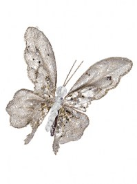 Aldik Home's Eclectic Christmas Ornaments - Beaded Butterfly