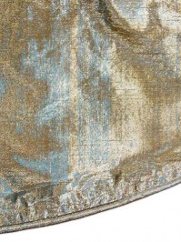 Aldik Home's Lovely Tree Skirts - Metallic Dupioni
