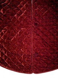 Aldik Home's Lovely Tree Skirts - Quilted Velvet