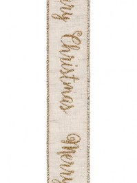 Aldik Home's Luxurious Ribbon - Glitter Christmas