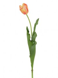 Aldik Home's Realistic Silk Flowers - Tulip Natural Touch