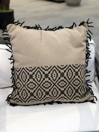 Aldik Home's Luxurious Outdoor Throw Pillows - Tribal Stripe