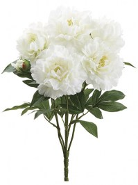 Aldik Home's Incredibly Realistic Silk Flowers - Peony Bush