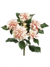 Aldik Home's Incredibly Realistic Silk Flowers - Dahlia Bush