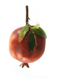 Aldik Home's Deliciously Realistic Fruits & Vegetables - Pomegranate