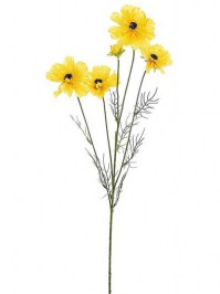 Aldik Home's Incredibly Realistic Silk Flowers - Cosmos Spray