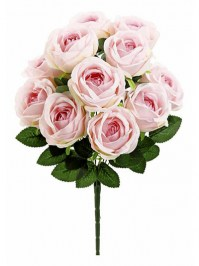 Aldik Home's Incredibly Realistic Silk Flowers - Rose Bush