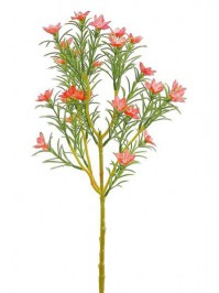 Aldik Home's Realistic Silk Flowers - Blooming Rosemary
