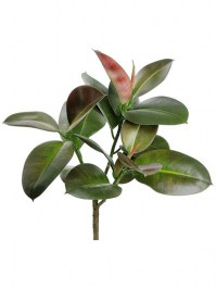 Aldik Home's Incredibly Realistic Silk Plants - Rubber Plant