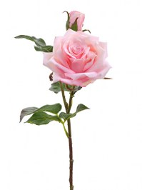 Aldik Home's Realistic Silk Flowers - Dutch Rose