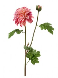 Aldik Home's Incredibly Realistic Silk Flowers - Garden Dahlia