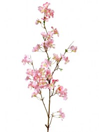 Aldik Home's Incredibly Realistic Silk Flowers - Apple Blossom Branch