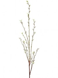 Aldik Home's Incredibly Realistic Silk Flowers - Pussy Willow Branch