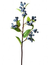 Aldik Home's Incredibly Realistic Silk Plants - Blueberry Spray