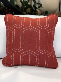 Aldik Home's Luxurious Outdoor Throw Pillows - Cape May Garden