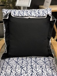 Aldik Home's Luxurious Outdoor Throw Pillows - Linen Midnight