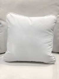 Aldik Home's Luxurious Outdoor Throw Pillows - Natural White