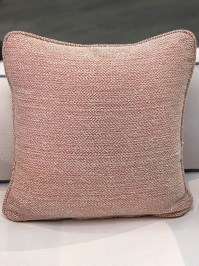 Aldik Home's Luxurious Outdoor Throw Pillows - Avila Flamingo w/ Welt