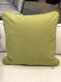 Aldik Home's Luxurious Outdoor Throw Pillows - Wasabi