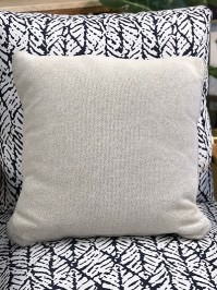 Aldik Home's Luxurious Outdoor Throw Pillows - Brighton Solid Snow