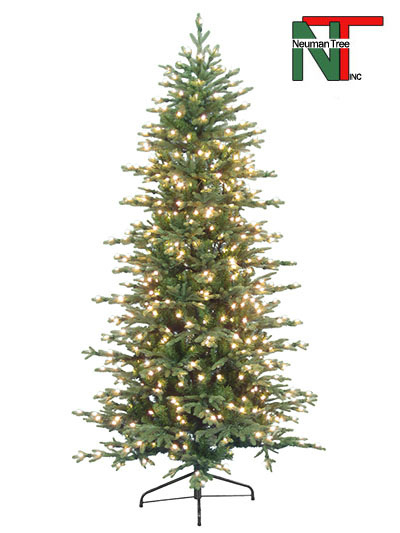 Aldik Home's Premium Artificial Christmas Trees - Slim Ridgeline Fir